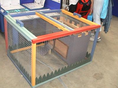 picture of Guinea Pig house and run for local nursery