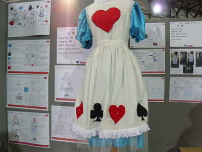 picture of Alice in Wonderland Dress